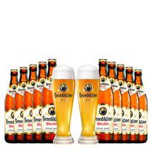 kit-de-cervejas-benediktiner-com-2-copos